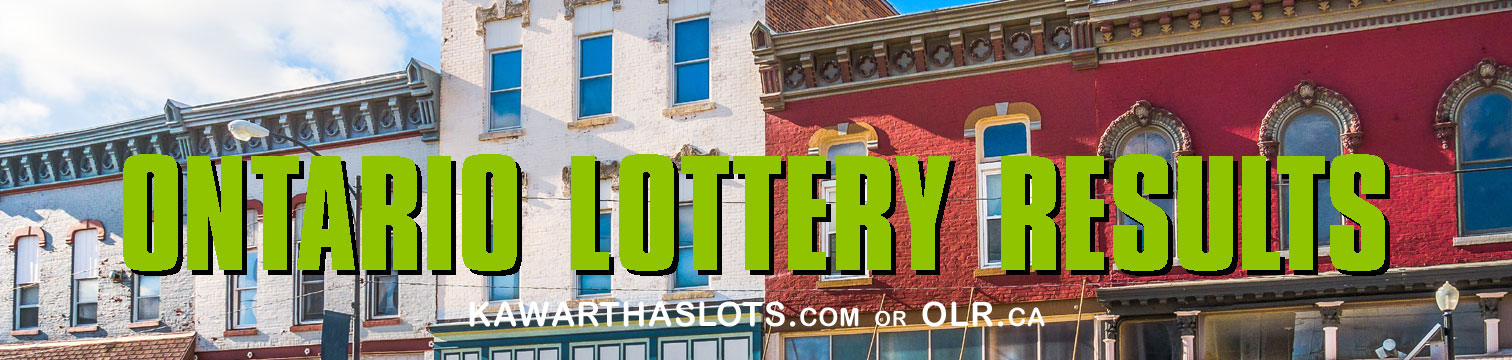 Lotto 6 and 7 lottery results from a max of 50 or 49 numbers at OLR, online lottery results